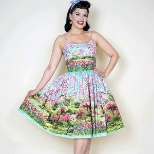 Bernie Dexter Cherry Blossom 1X Dress
